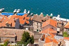 Old Stone Buildings of Sibenik, Croatia Royalty Free Stock Photo