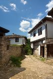 Old stone Bulgarian houses Royalty Free Stock Photos