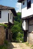 Old stone Bulgarian houses. In the village of Dolen Stock Photos