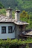 Old stone Bulgarian houses Stock Photos