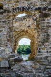 Old stone castle ruins Royalty Free Stock Photos