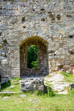 Old stone castle ruins Stock Images