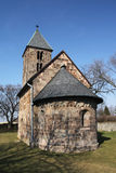 Old stone church from rural Hungary Stock Image
