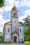 The old stone church Stock Image