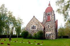 Old stone church Stock Photography