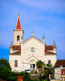 Old stone church surrounded by nature in Dalmatia, Croatia Stock Photography