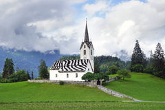 Old stone church, Switzerland. Stock Images
