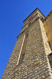 Old stone church tower Royalty Free Stock Photos