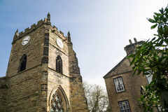 Old stone church. Royalty Free Stock Photography