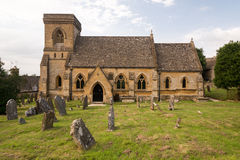 Old Stone Church Stock Photo
