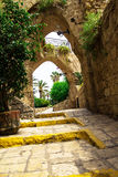 Old stone city Jaffa in Tel Aviv Royalty Free Stock Image