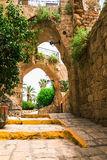 Old stone city Jaffa in Tel Aviv Stock Photography