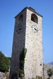 Old stone clock Stock Photo