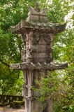 Old stone column Stock Images