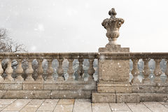 Old stone columns Royalty Free Stock Photo