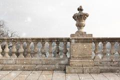 Old stone columns Royalty Free Stock Photo