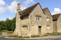 Old stone cottage, Lacock Stock Photo