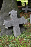 Old stone cross Royalty Free Stock Photo