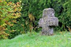 Old stone cross Stock Photos
