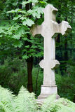 Old stone cross Stock Image