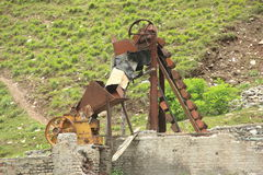 Old Stone Crusher. Royalty Free Stock Photography