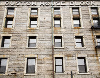 Old Stone Custom House in Boston Royalty Free Stock Images