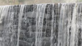 Old Stone Dam stock video