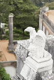 Old stone eagle Stock Image