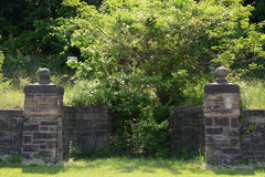 Old stone entrance Royalty Free Stock Images