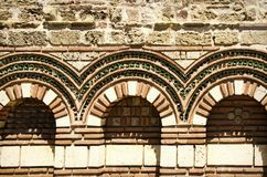 Old Stone Exterior Decoration Stock Image