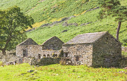 Old Stone Farm Homestead Stock Photo