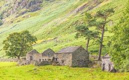 Old Stone Farm Homestead Stock Image