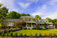 Old Stone Farm House Royalty Free Stock Images