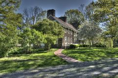Old Stone Farmhouse. An old farm house in in rural New Jersey Royalty Free Stock Image