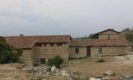 Old stone farmhouse Stock Photography