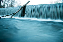 Old Stone Fort State Park Water Falls. In the winter time Stock Photo