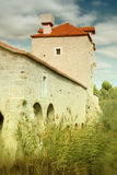 Old stone fortress Stock Images