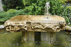 Old stone fountain Royalty Free Stock Image