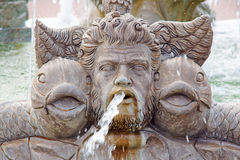 Old stone fountain Royalty Free Stock Images