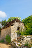 Old stone French house Stock Photo