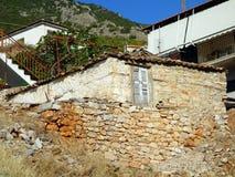 Old Stone Greek House Stock Image