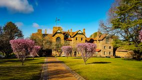 Old Stone Hall royalty free stock photography