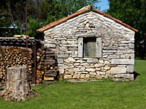 Old stone house Stock Images