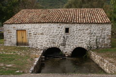 Old stone house. In konavle Royalty Free Stock Images