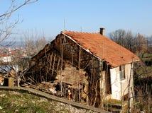 Old stone house. In Bosnia and Herzegovina royalty free stock image