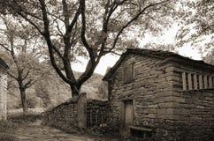 Old stone house Stock Photo