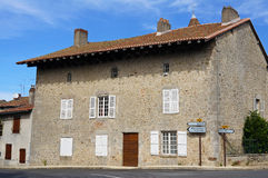 Old stone house in France Stock Images
