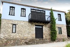 Old stone house Greece Royalty Free Stock Images