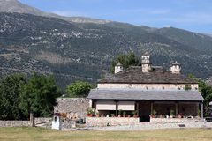 Old stone house Ioannina. Greece Stock Images