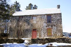 Old Stone House - Kings Landing, NB Stock Images